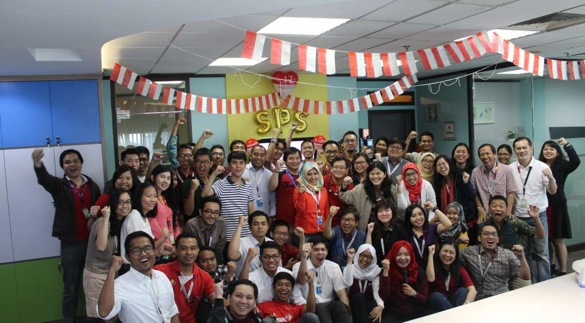 Celebration The 71th Independence Day Republic of Indonesia