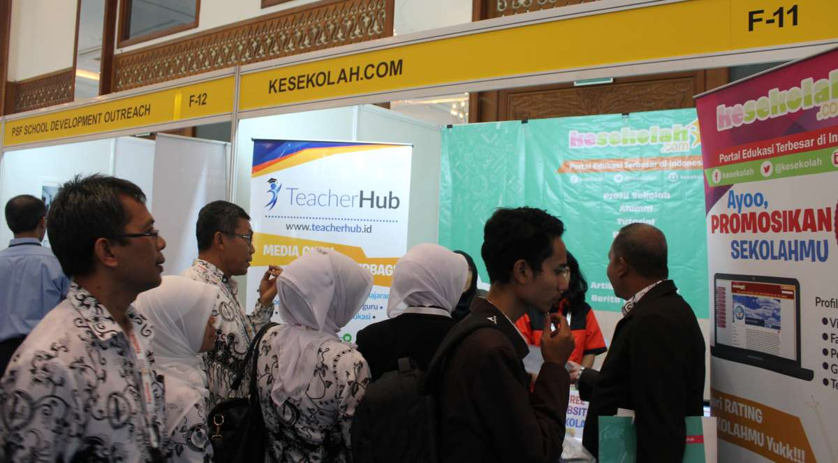 Kesekolah.com As Media Partner at Global Educational Supplies and Solutions Indonesia