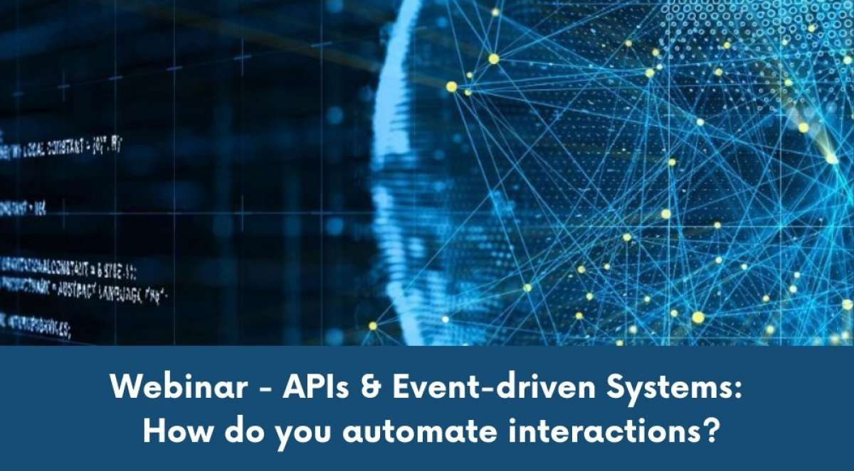 "Webinar ""Apis dan Event-Driven Systems: How Do You Automate Interactions?"""