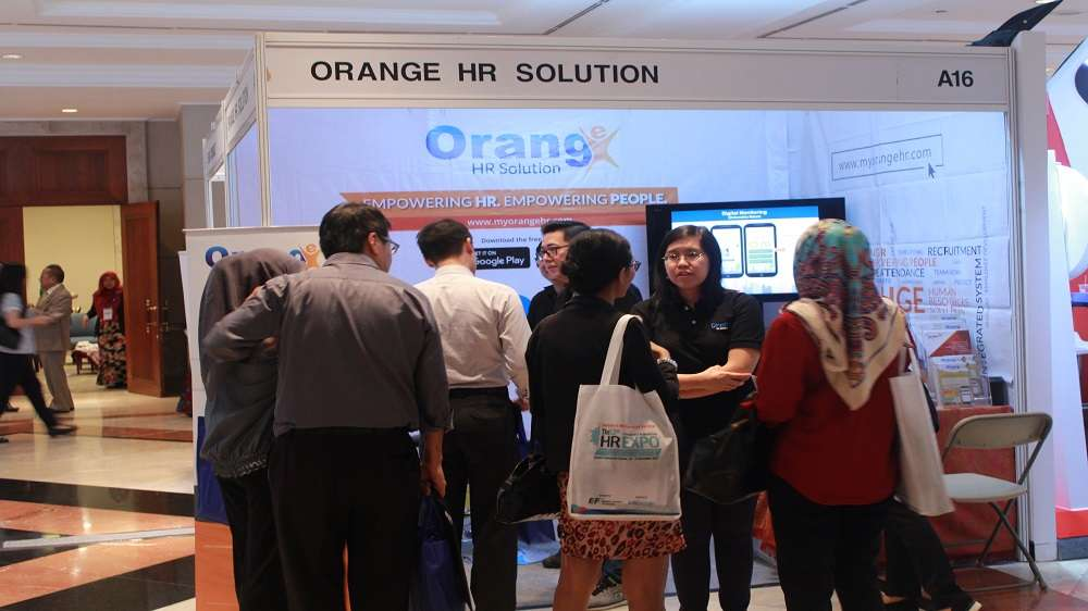 Orange HR Solution at HR Expo 2017